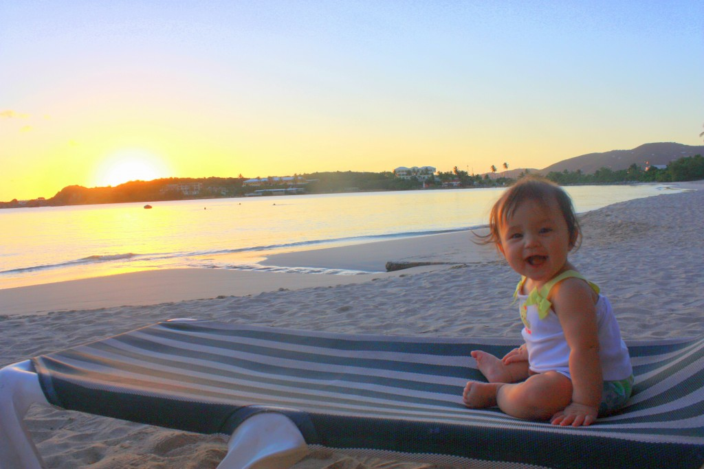 First time at the beach:) Look at that big Smile... I will forever cherish moments like this.