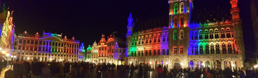 The Grand-Place is the central square of the City of Brussels where every tourists and locals hang out.