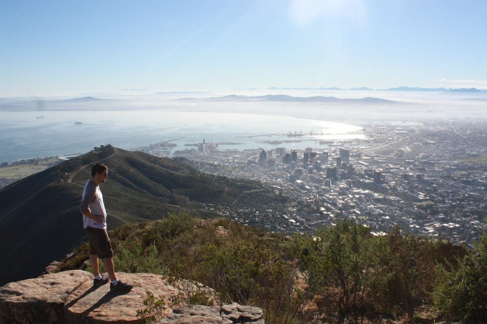 He loves Cape Town more than any other cities in the world...