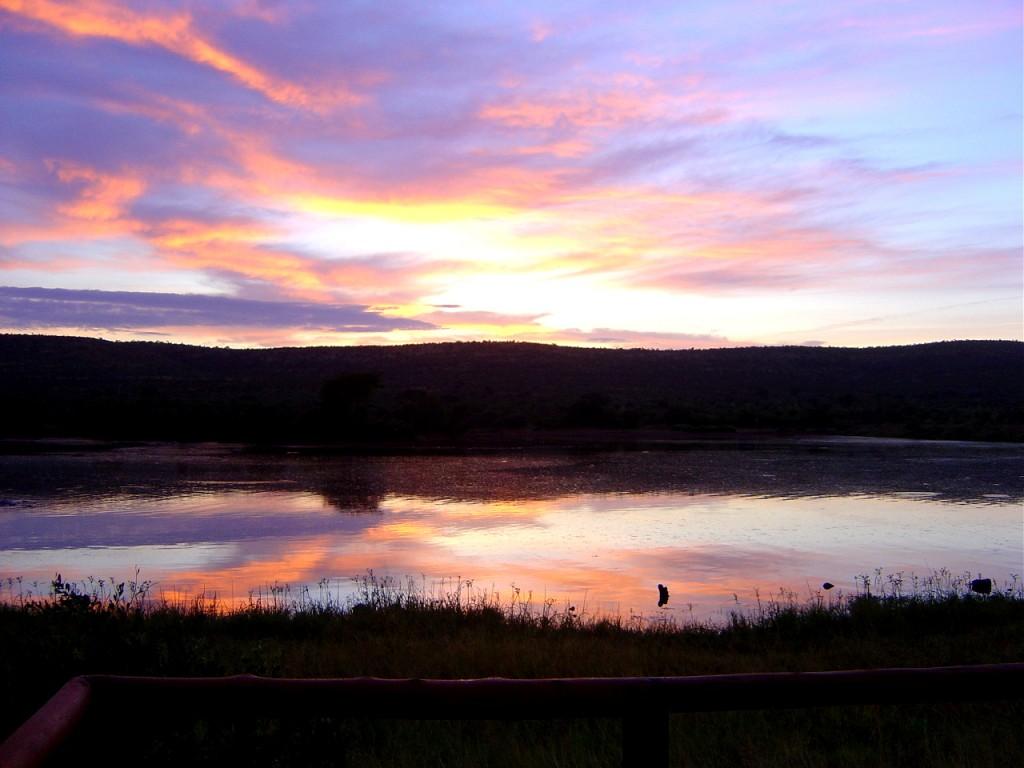 Waking up with a beautiful sunrise
