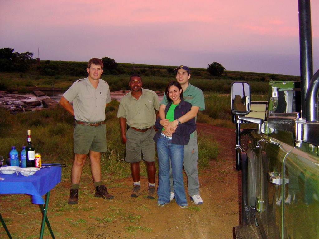 Food and wine after every game drives in the middle of the park is such a treat.