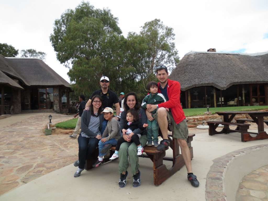 The Crew:) With special friend and her family from the Philippines visited Cape Town with us... we couldn't let them go without going to a safari.