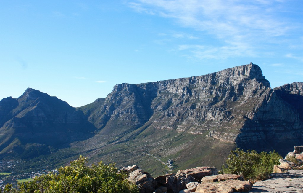 The most iconic land mark in South Africa, Table Mountain