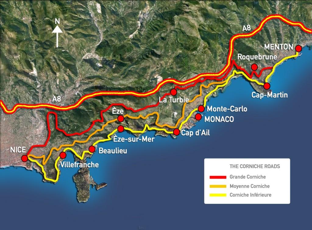 Corniche Road Map