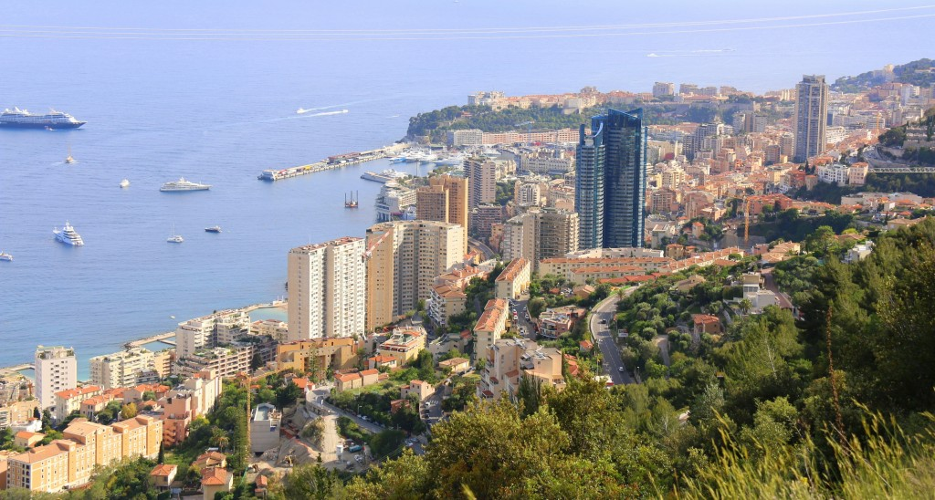 Monaco. I love this dramatic coastal view... beautiful!!!