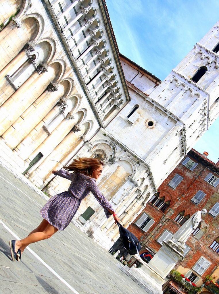 Infront of Basilica di San Frediano