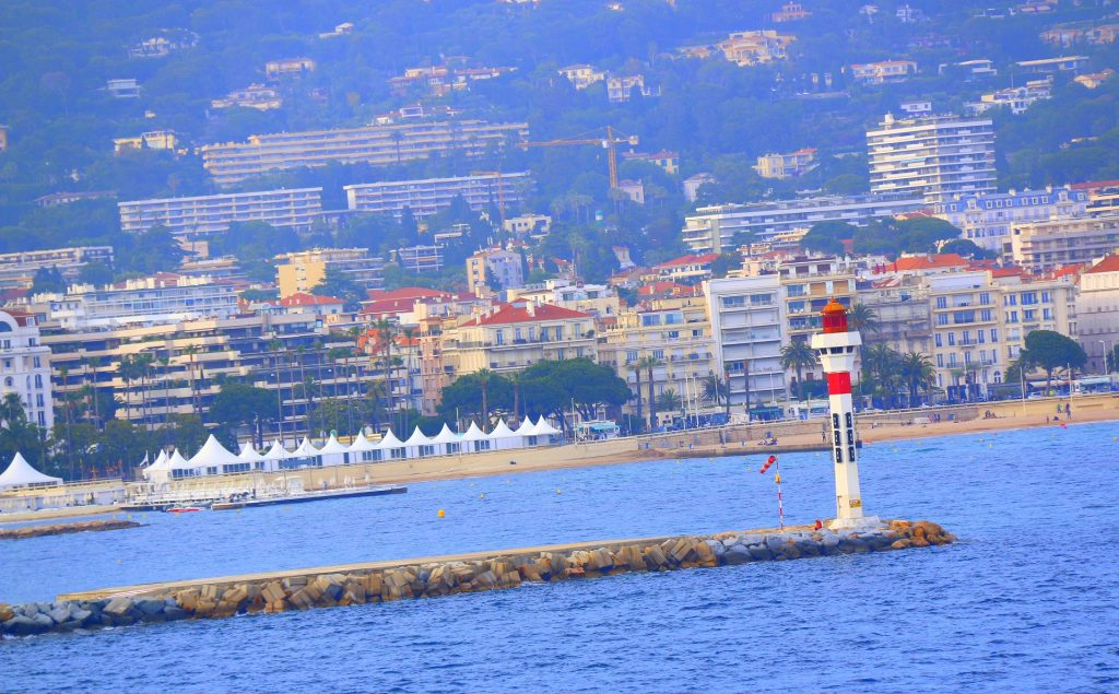 The View from the ship:) Beautiful Cannes...