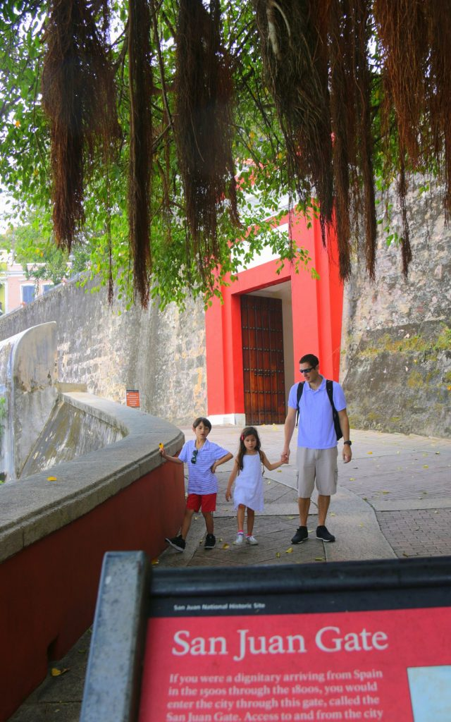 Puerta de San Juan, this large, circa-1635 gate was the main entry into the walled city during its Spanish colonial era.