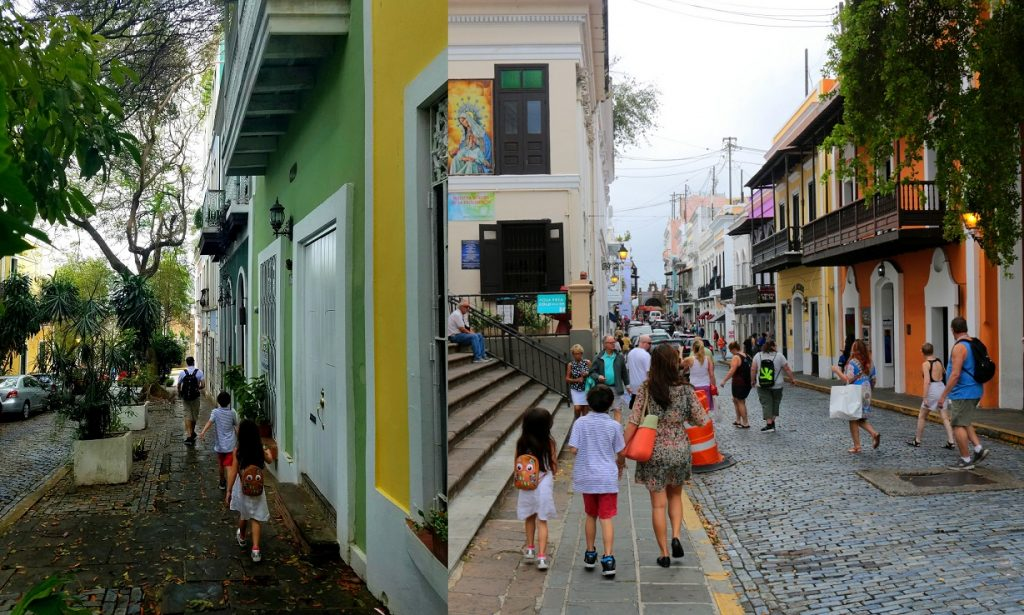 Best way to see Old San Juan is by walking