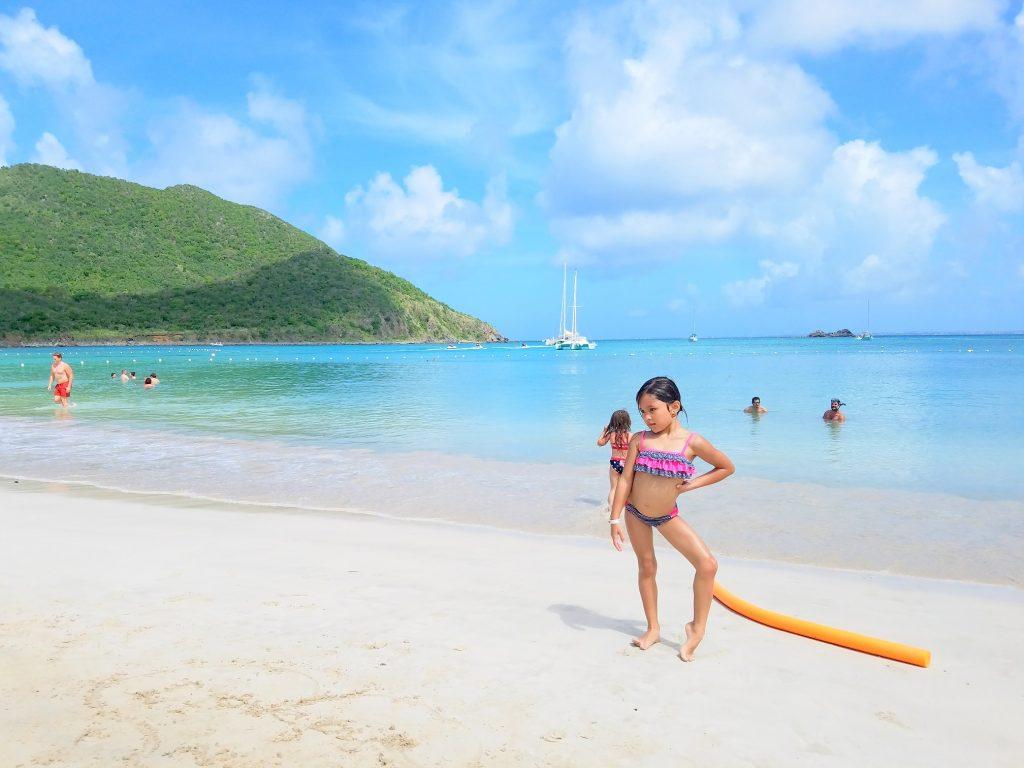 Our lil beach babe:)