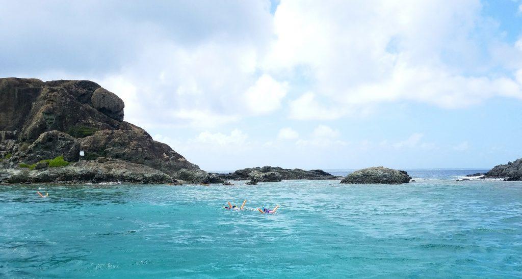 Kids 1st snorkeling:)