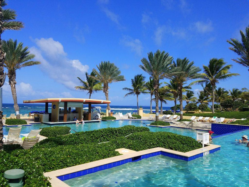 Westin Dawn Beach Resort pool area