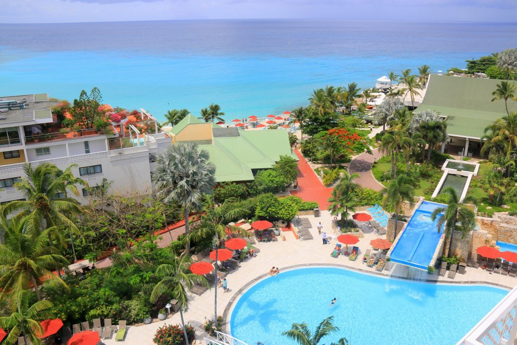 What a gorgeous view from Sonesta Maho Beach Resort
