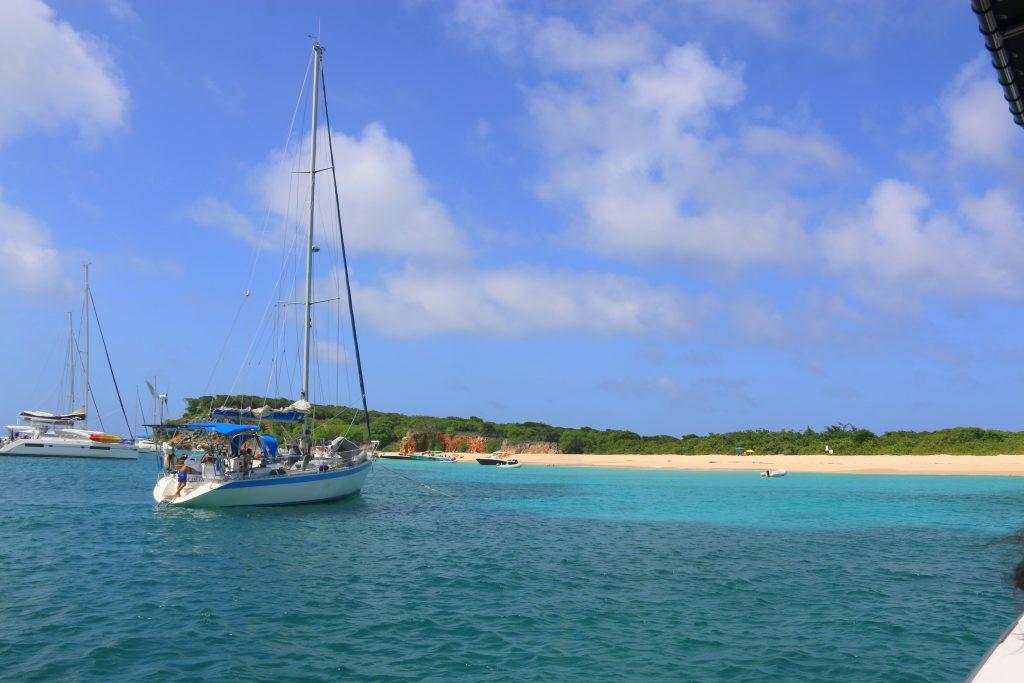 Deserted island of Tintamarre