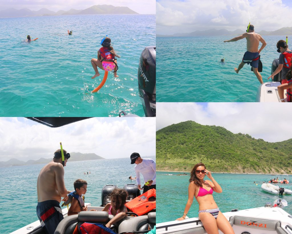 Perfect day for snorkeling... swam with sea turtles, spotted eagle ray and sting rays.
