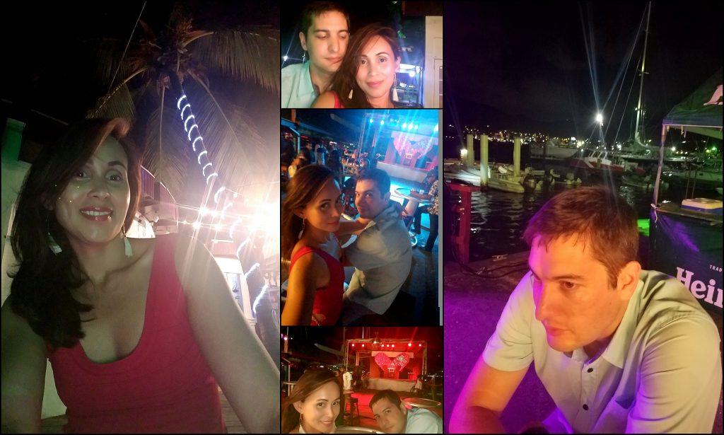 Fun times at Soggy Dollar Bar by Simpson Bay Marina