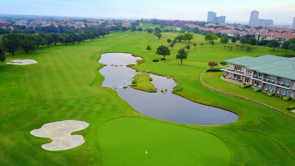 What a fantastic golf course of Four Seasons Resort & Club at Las Colinas.
