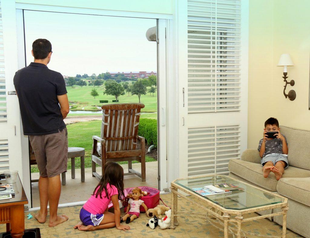 Our Villa facing TPC Four Seasons Las Colinas golf course