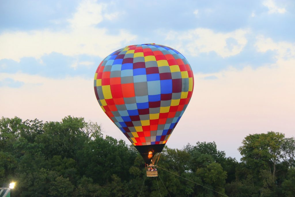 Balloon Tethered rides is offered this year:) Woooot.....