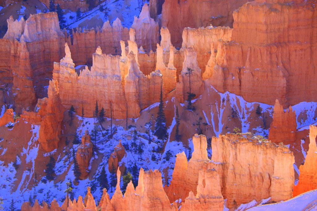 Hoodoos makes Bryce Canyon the coolest place to visit.