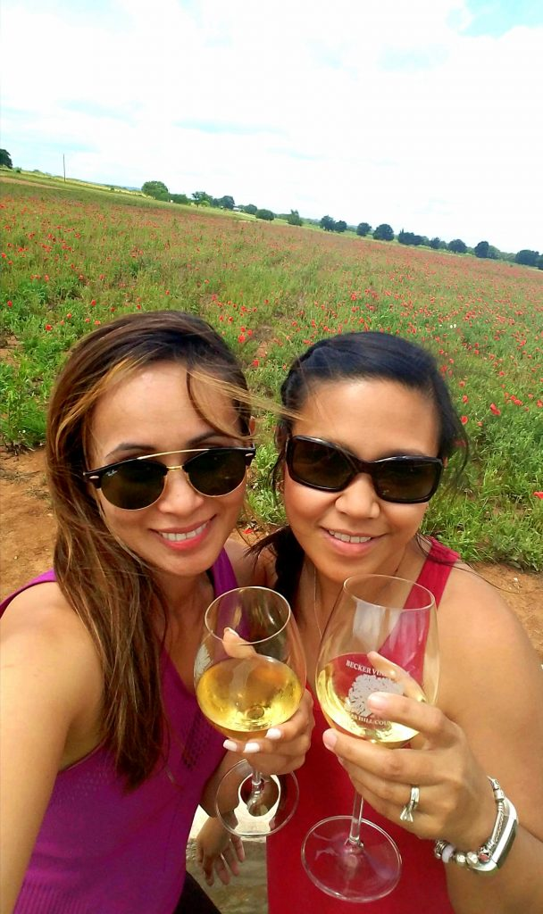 Wine is defiitely better when shared with a friend:)
