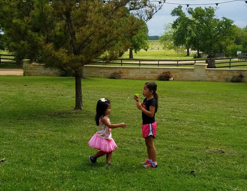 It's a perfect place for the little ones to run around and explore the beautiful grounds...