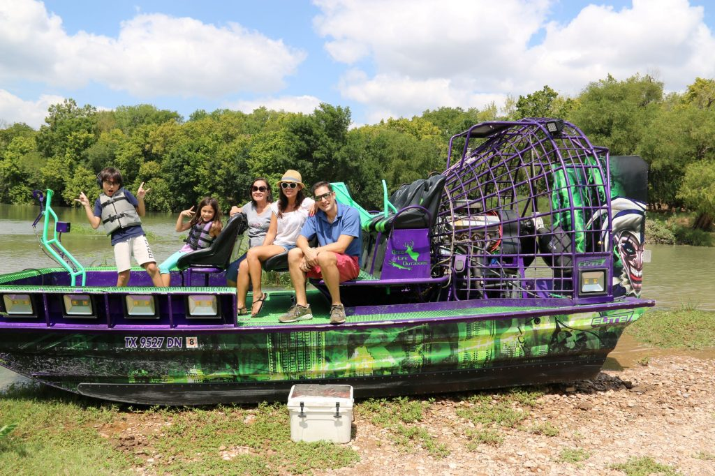 Airboat Ride with my family:)