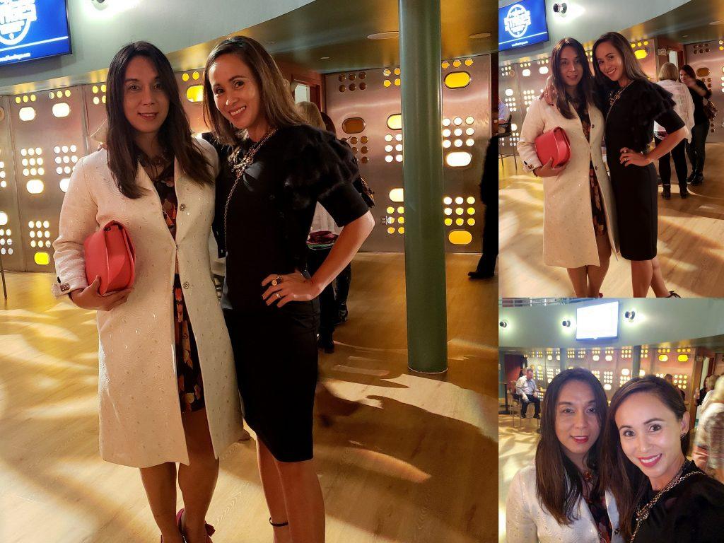 With my friend, Jil:)